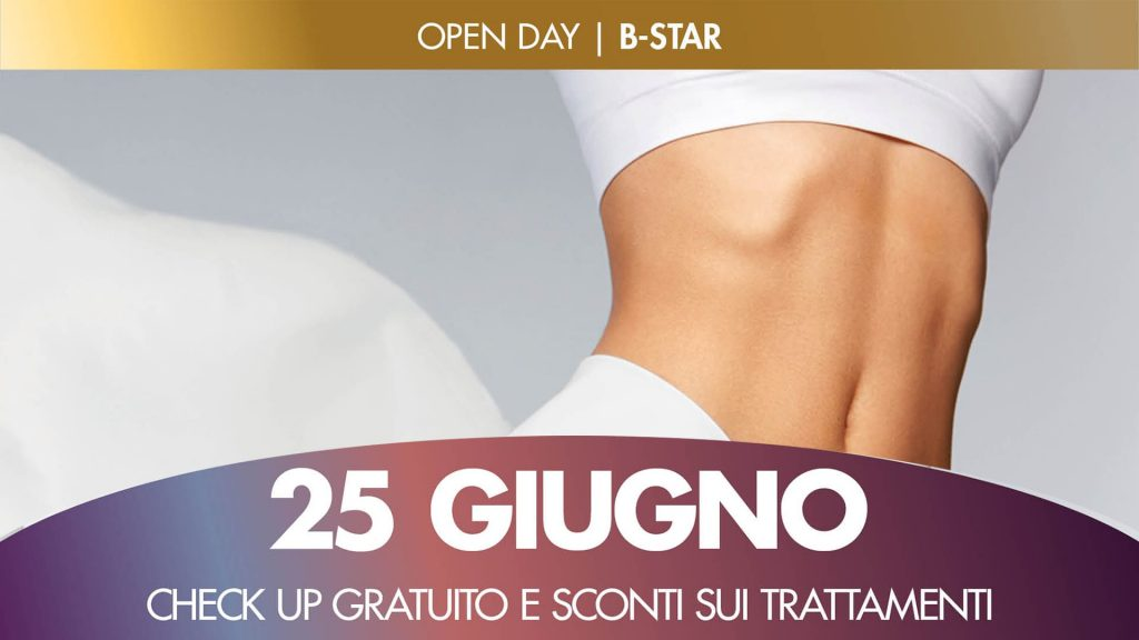 Open day trattamento rimodellante con B-Star