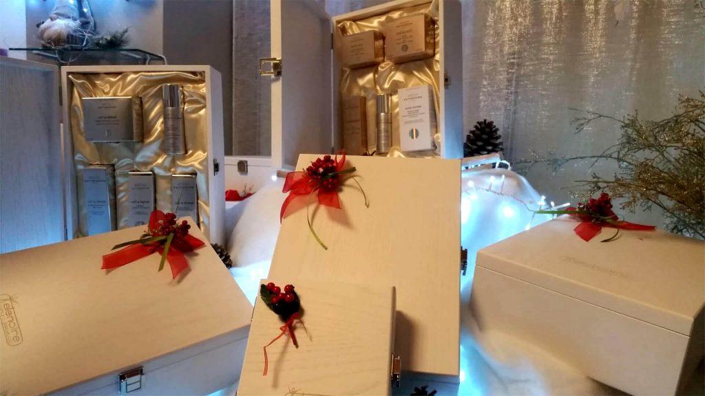 Promo Natale 2019 sull'estetica - cofanetti Centro Estetico Elenoire